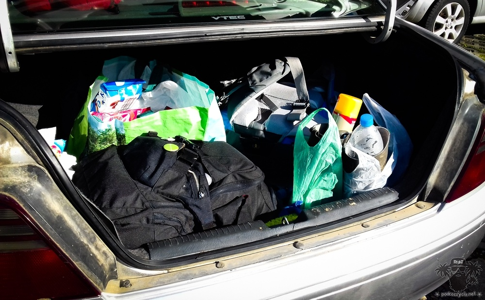 Podróż Życia, bagaże