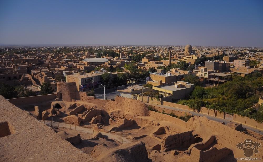 Podróż Życia, Iran, Meybod, Forteca Narin Qal'eh