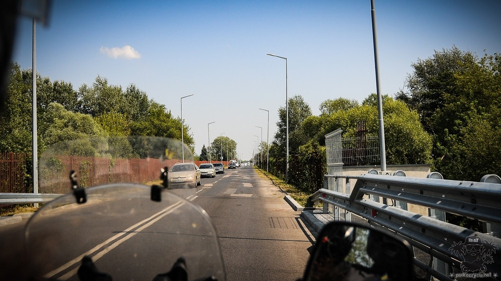 Podróż Życia, Białoruś motocyklem, granica polsko-białoruska