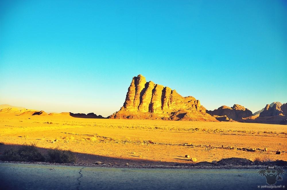 Jordania, Wadi Rum, Filary Mądrości