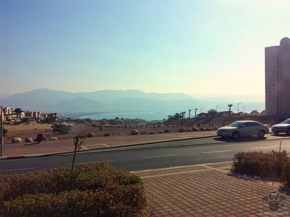 Eilat. Ostatni rzut oka na Morze Czerwone