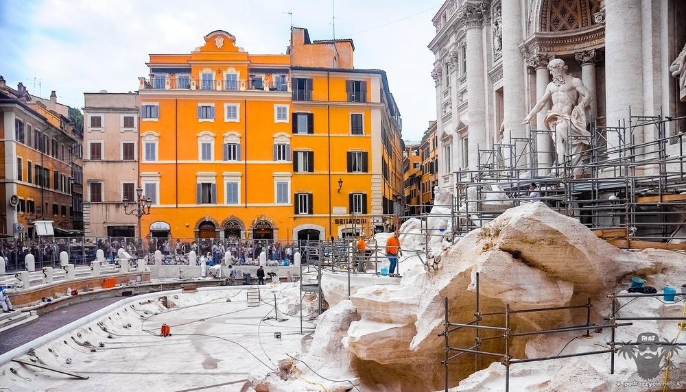Podróż Życia, Rzym, fontanna di Trevi