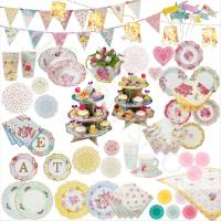 Truly Scrumptious Vintage Party Catering Tableware - Table ...