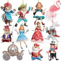 Gisela Graham Disney Themed Characters Hanging Christmas ...