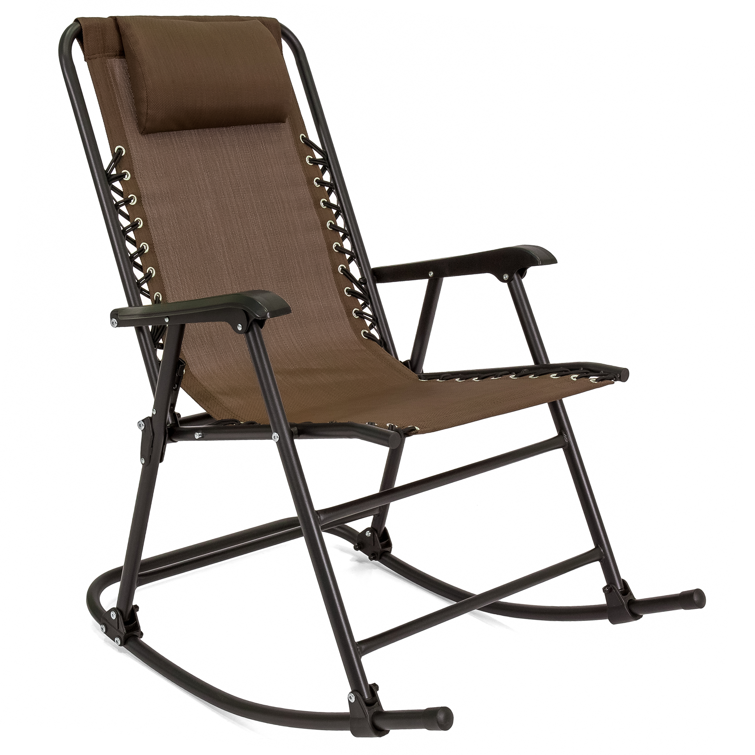 Recliner Rocking Chair Best Choice Products Foldable Zero Gravity Rocking Patio