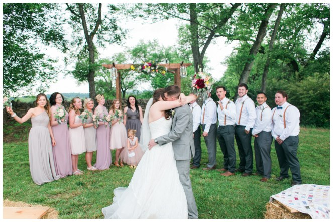 Sarah and Chris at The Barn in the Bend