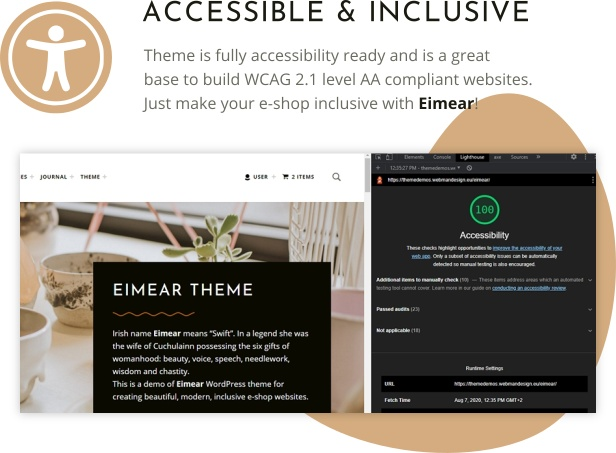 Eimear - Inclusive WooCommerce WordPress Theme - 3