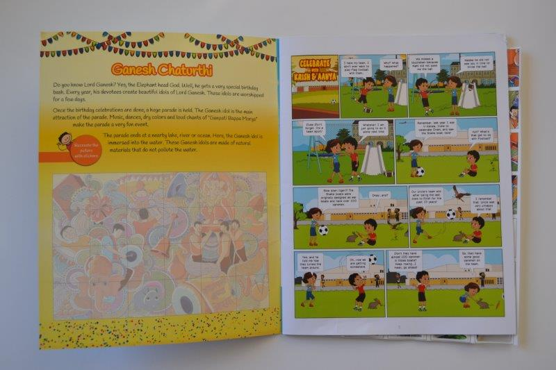 Culture Dabba - A South Asian Children Magazine