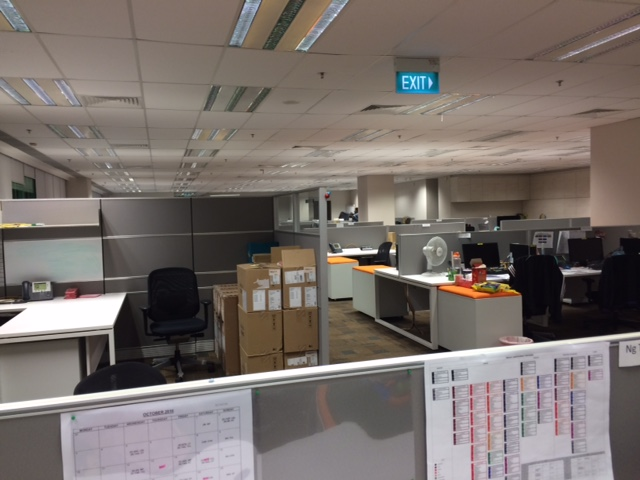 Client Office in Night Support