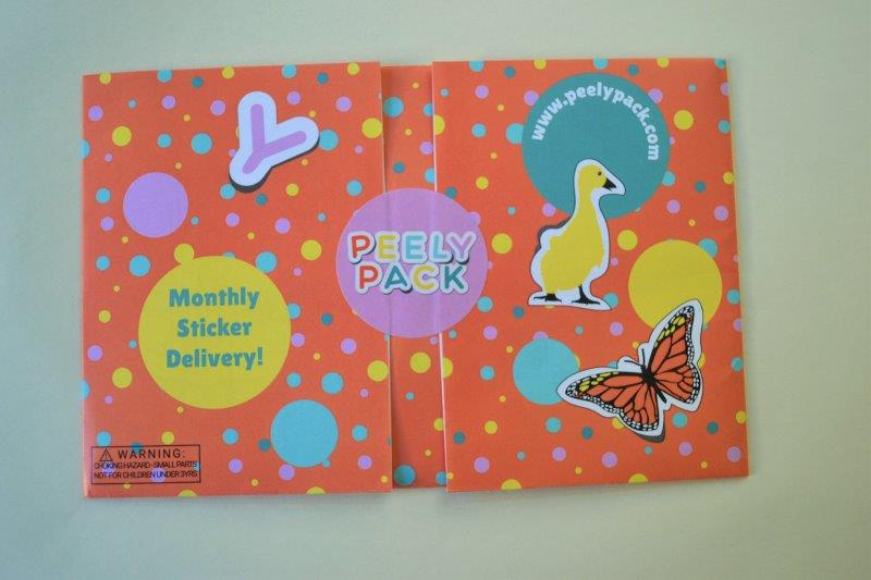 PeelyPack Stickers Subscription Review and Giveaway
