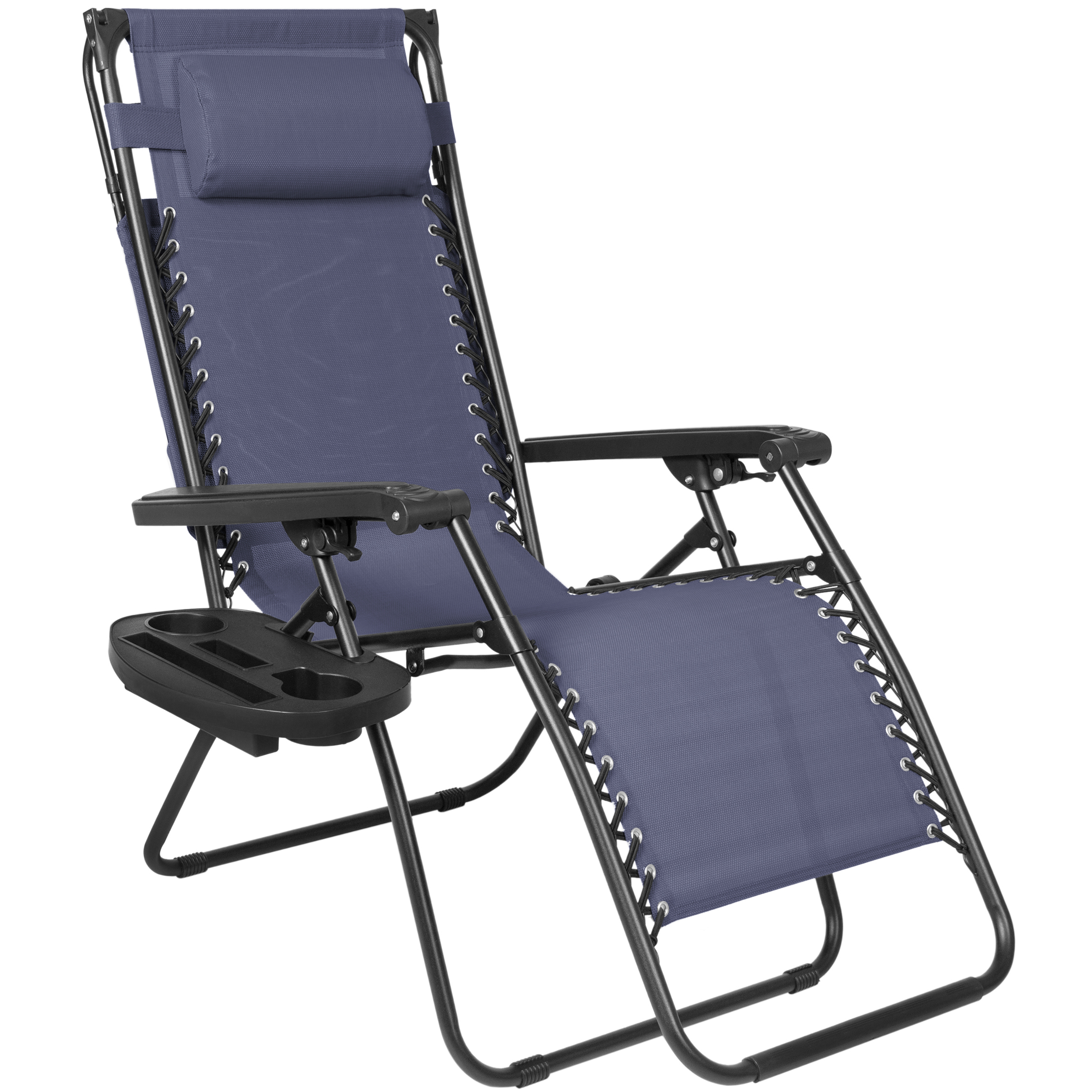 Indoor Zero Gravity Chair Folding Zero Gravity Recliner Lounge Chair W Canopy Shade