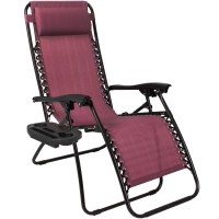 Zero Gravity Chairs Case Of (2) Lounge Patio Chairs