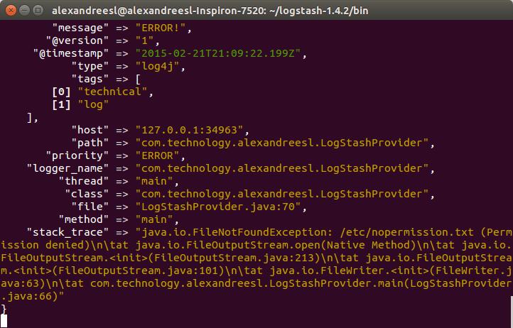 ELK: using a centralized logging architecture - part 2 (4/6)