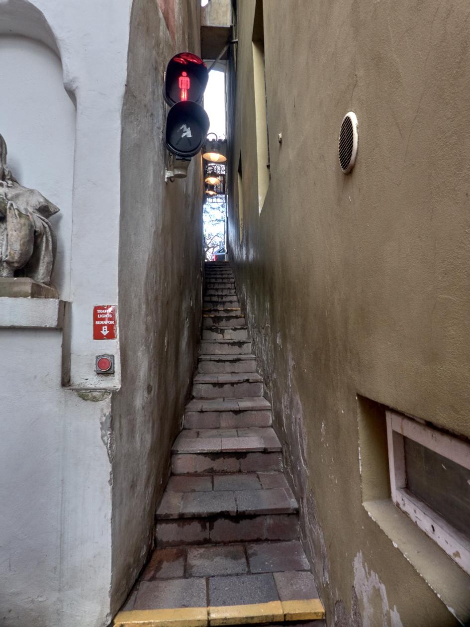 Calle estrecha
