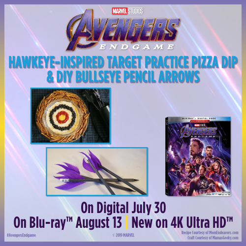 Create A Marvelous Family Movie Night with Avengers: Endgame Recipes