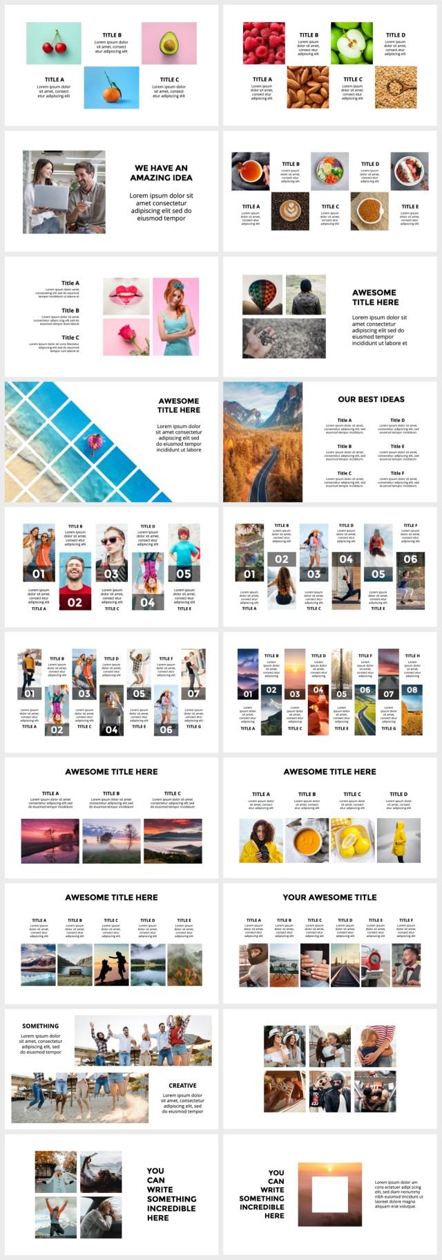 Huge Infographics Bundle! Lifetime Updates! PowerPoint, Photoshop, Illustrator. - 122