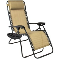 Zero Gravity Camp Chair Retro Metal Patio Chairs Bcp Set Of 2 Adjustable For Pool