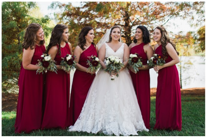 Bridesmaids and Courtney