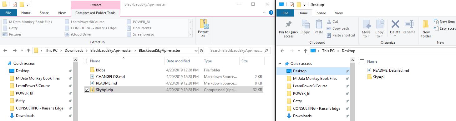 Two Instances of Windows Explorer