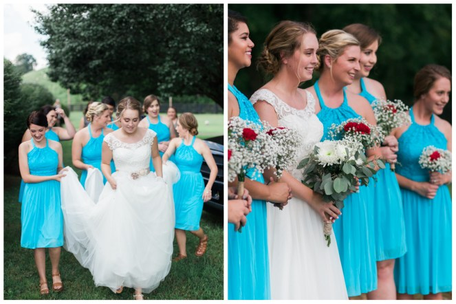 Casey and Bridesmaids