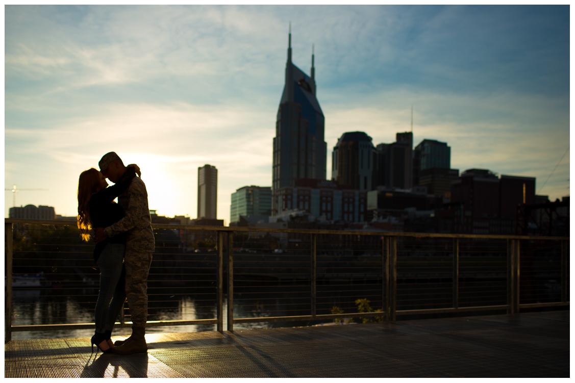 Seth and Raegan Silhouette