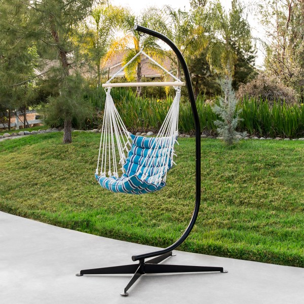 Hammock Chair Stand Solid Steel Air Porch Swing