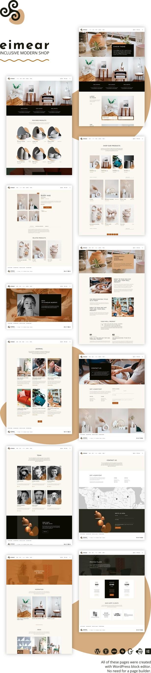 Eimear - Inclusive WooCommerce WordPress Theme - 1