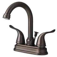Brushed Bronze Kitchen Faucet Decorating Walls Contemporary Bathroom Vanity Sink 4 Quot Centerset Lavatory