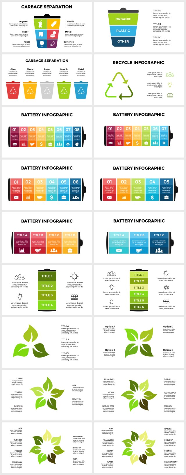 Huge Infographics Bundle! Lifetime Updates! PowerPoint, Photoshop, Illustrator. - 202