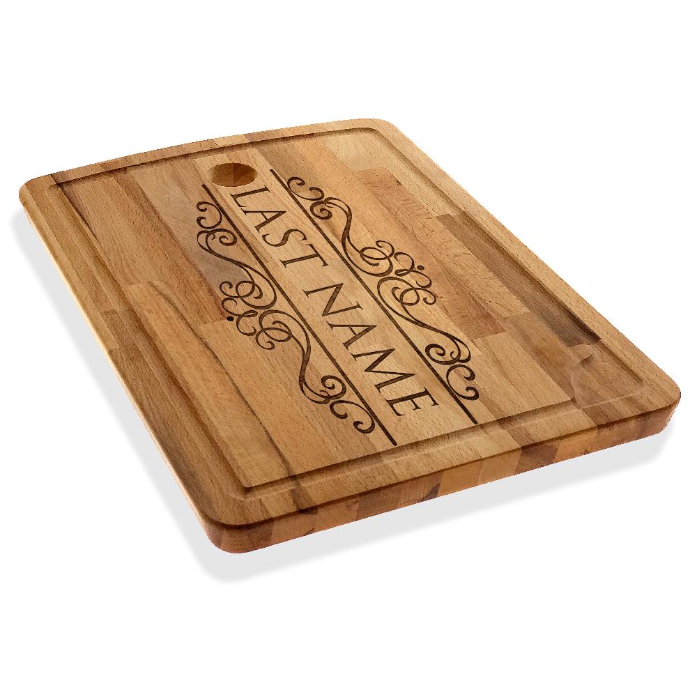 Personalized Cutting Chopping Board Custom Last Name