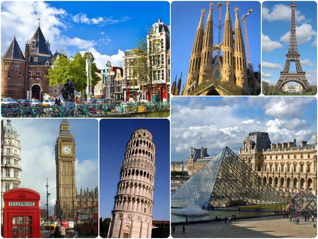 Guía de viaje a Europa