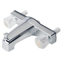 "Mobile Home Two Handle 8"" Tub Shower Faucet Diverter ..."
