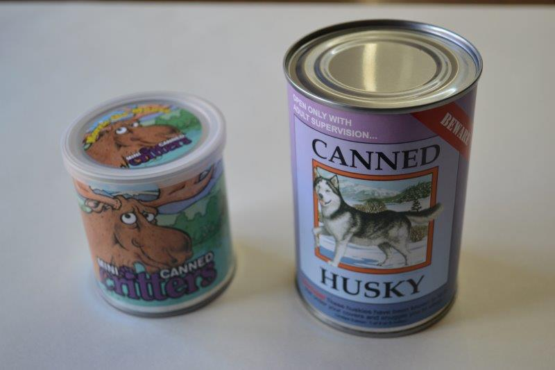 Canned Critters - Cuddly Plush Toys In A Can!