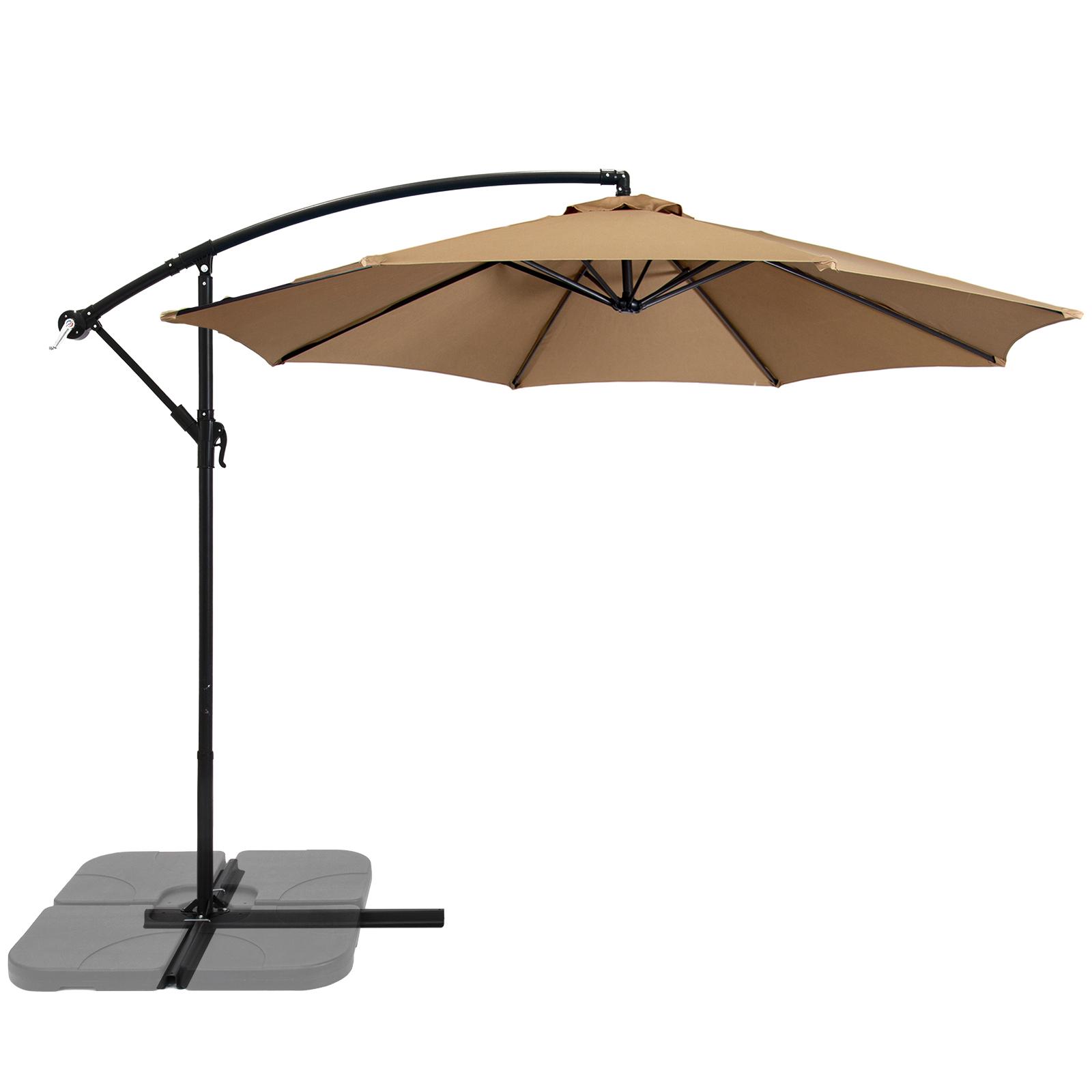 Patio Umbrella Offset 10' Hanging Umbrella Outdoor Market