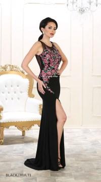 EVENING PROM STRETCHY DRESSES FORMAL DESIGNER SPECIAL ...