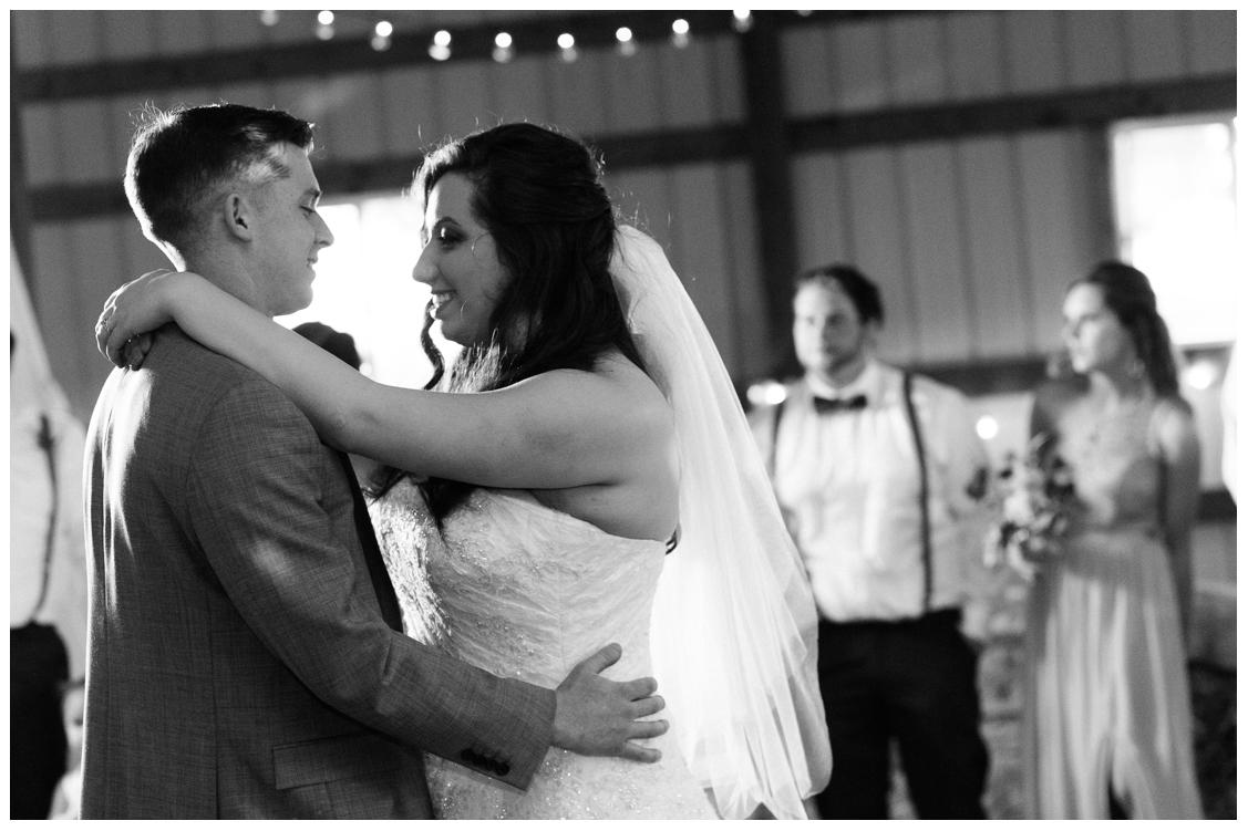 Sarah and Chris First Dance