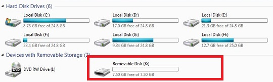 How to change removable disk icon with own picture?