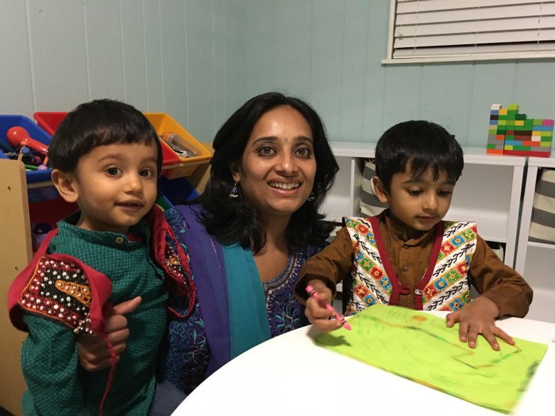 South Asian Children's book The Big Red Firetruck Review and The Ten Gulab Jamuns Kickstarter Campagin