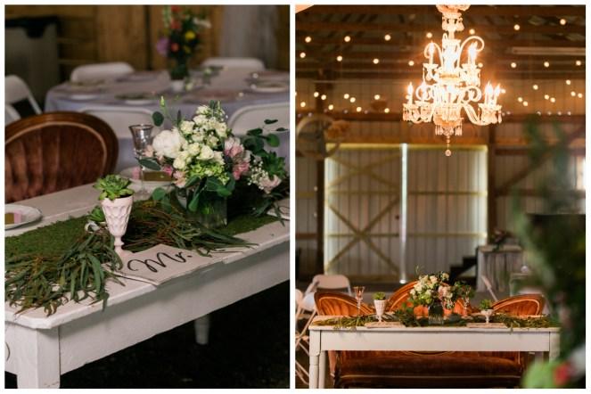 Sarah and Chris Couples Table