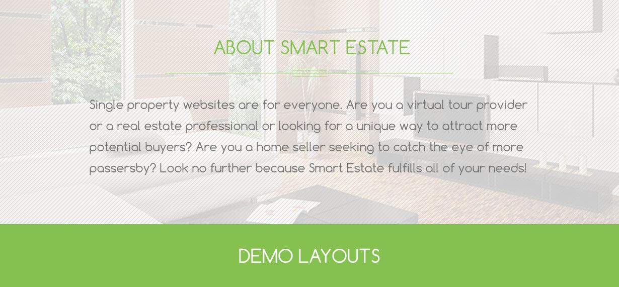 Smart Estate - Ultimate Single Property Theme - 2
