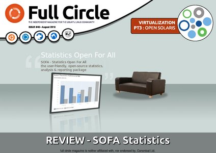 Full Circle Magazine issue 40 cover