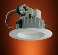 "LED Recessed Ceiling 4"" Dimmable Can Lights Provide the"