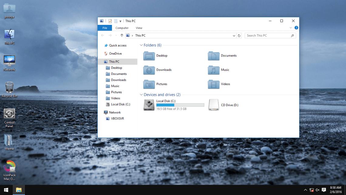 Mac OSX Dark