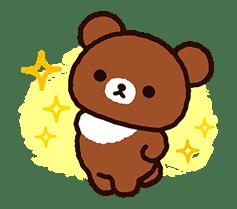 【日文】Rilakkuma~全螢幕的Chairoikoguma♪ ~(拉拉熊) | Yabe-LINE貼圖代購 | 臺灣No.1,最便宜高效率的代購網