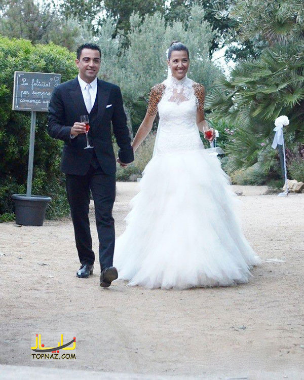عکس عروسی علی دایی باهمسرش