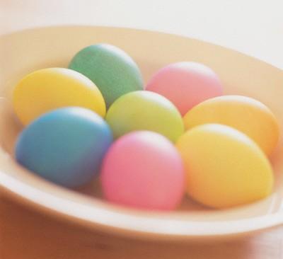 تزیین تخم مرغ برای سفره هفت سین