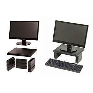 DAC MP107 LCD Monitor Riser Black  DEST6099  COS
