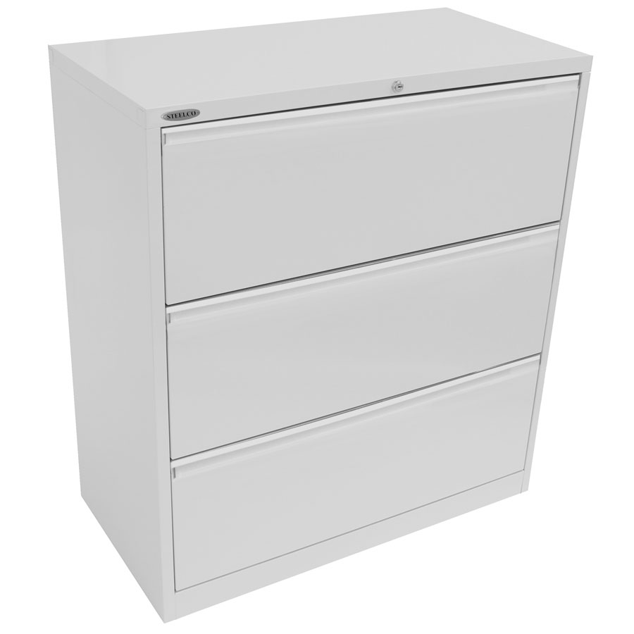Lateral Filing Cabinet 3 Drawer 1015H