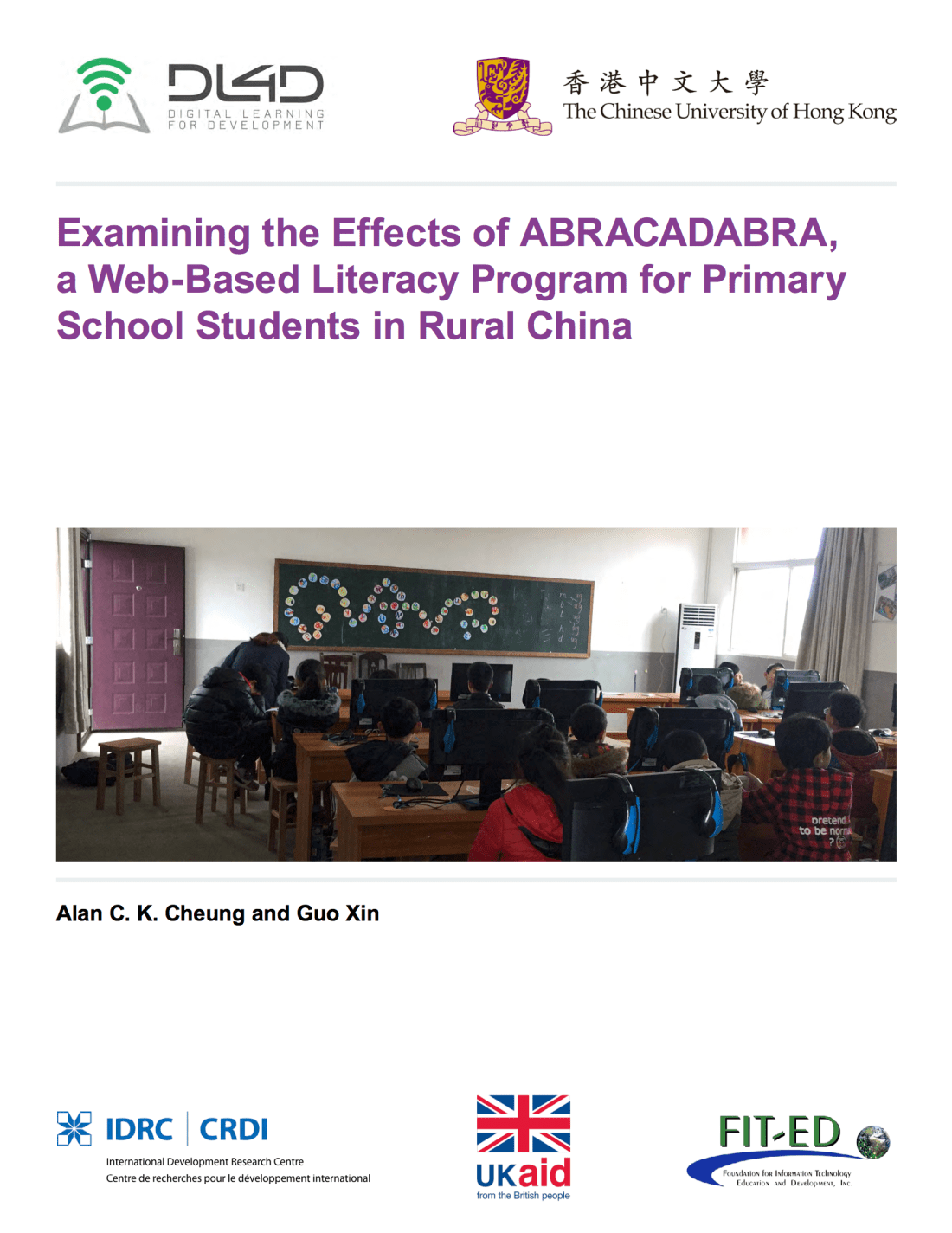 Examining the effects of ABRACADABRA, a web-based literacy