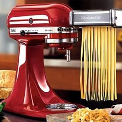 Kitchen Aid Pasta Attachment San Antonio Hotels With Kitchenaid Roller And Cutter Set Quibids Com